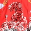七五三レンタル(5歳男袴) 5080 赤/勇寅と龍