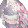 ワンタッチ 訪問着(XL 167-172cm)紫