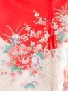 お宮参り女の子53 赤地/つつみと鳳凰