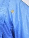 男性用袴・成人式・卒業式/青グラデーション紋服