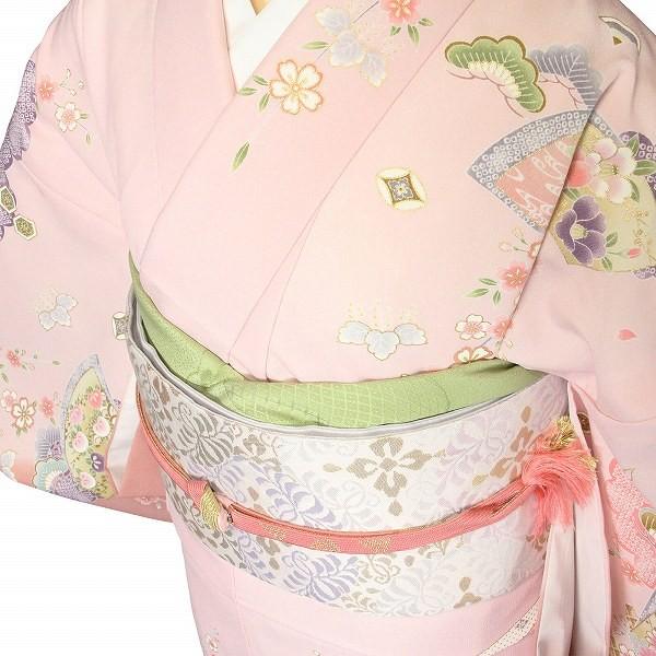 ワンタッチ 訪問着(L 162-167cm)ピンク
