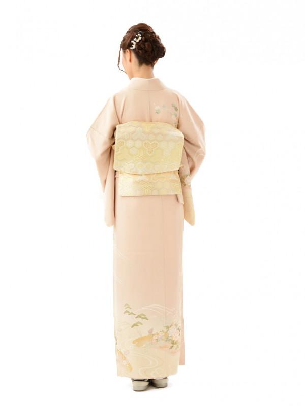 訪問着レンタルt492/結婚式・入学式・お宮参