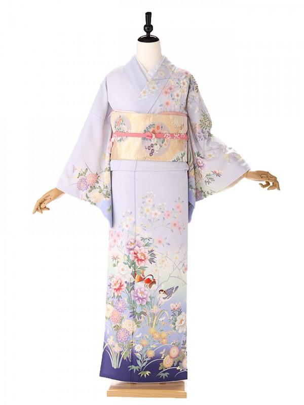 訪問着japanstyle紫6151
