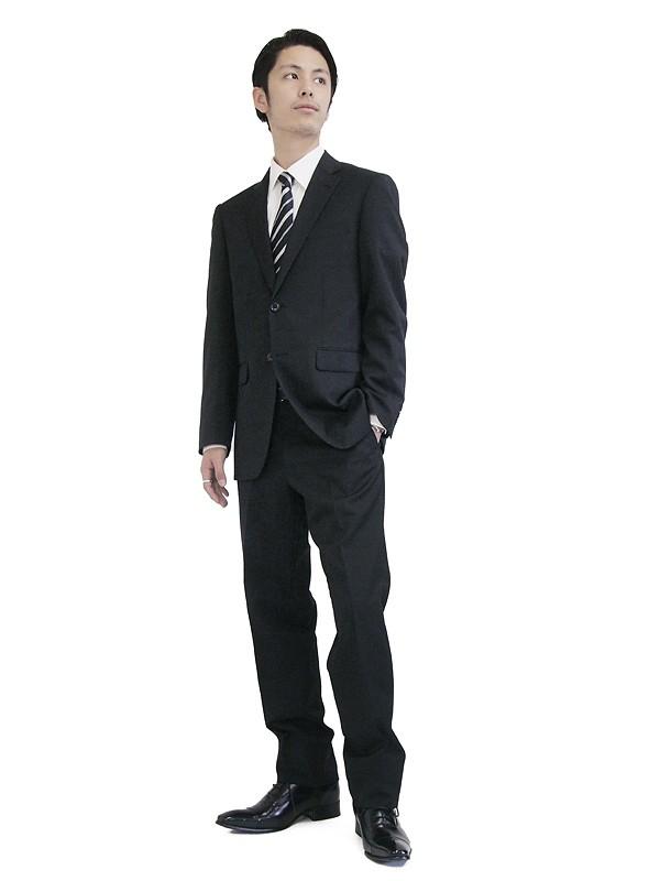 メンズスーツ|ブラック|
