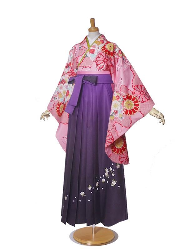 レンタル 袴 二尺袖 No.1234