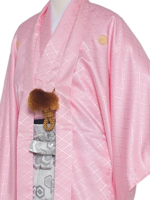 男性用袴 紋服5号桃色/5P00