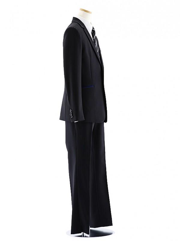 [男児スーツ]長ズボン ブラックストライプ スキニー 0064 150㎝~