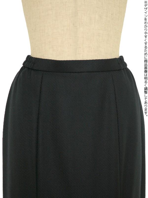 レディースブラックフォーマル 9号(S)~13号(LL) 冬用スカートスーツ