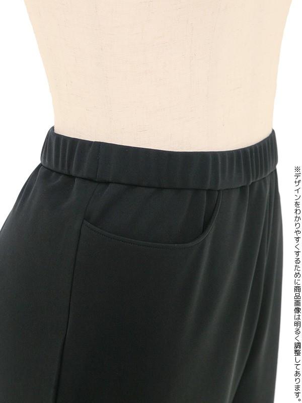 ブラックフォーマル 11号(L) 着・楽パンツスーツ
