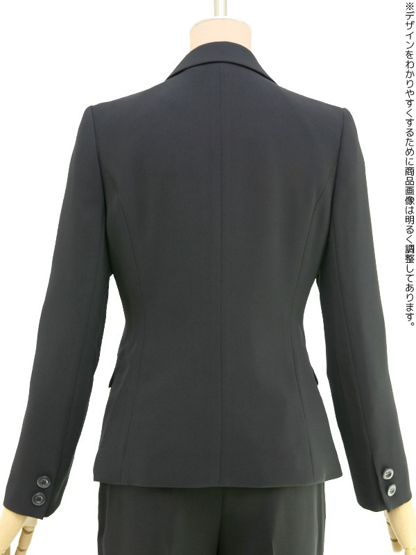 レディースブラックフォーマル 9号(M)~17号(4L) パンツスーツ