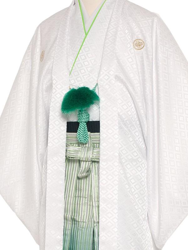 男性用袴 紋服6号白紋付金袴/6H50