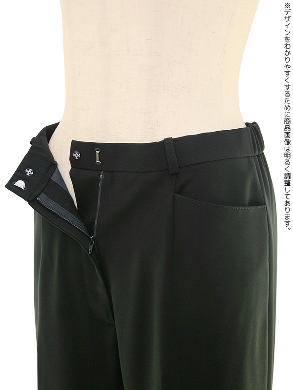 夏用 ブラックフォーマル 9号(M)~15号(3L) パンツスーツ