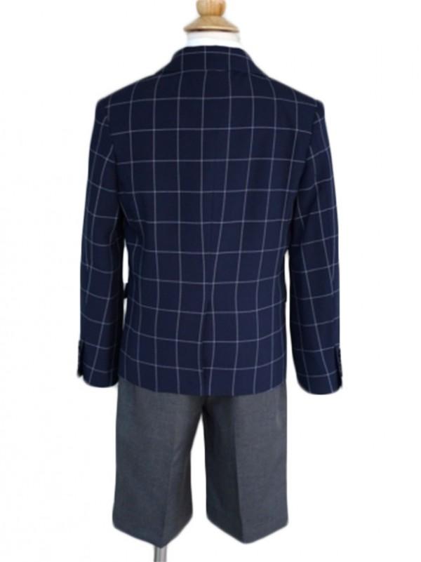 [男児スーツ] 半ズボン ELLE EN NOIR ネイビースーツセット