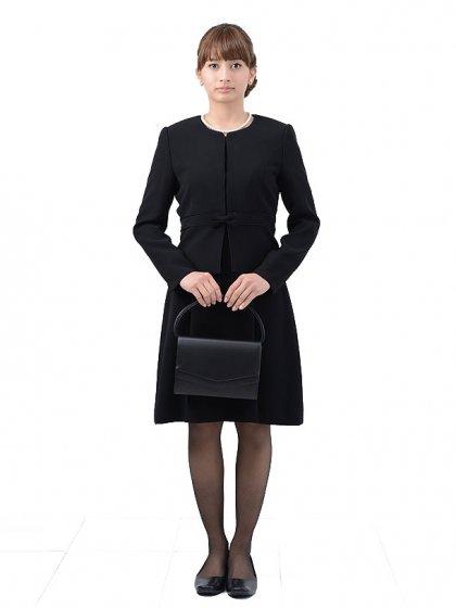 女性ブラックフォーマル1CQ0011アンサンブル