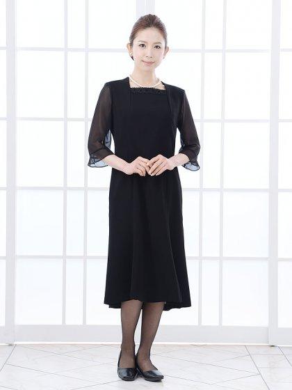 女性礼服1CQ0008アンサンブル[前ファスナー]