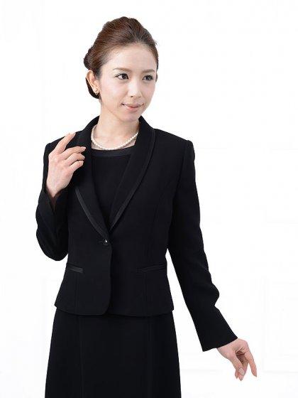 女性礼服1CQ0013アンサンブル[前ファスナー]