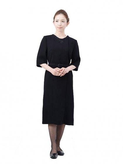 女性礼服1CQ0016アンサンブル[前ファスナー]