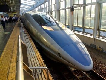 新幹線500系に遭遇!