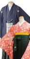 袴 ( 女性卒業袴 ・ 男性紋付 )