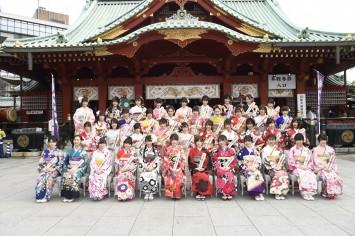 AKB48 2018年成人式振袖
