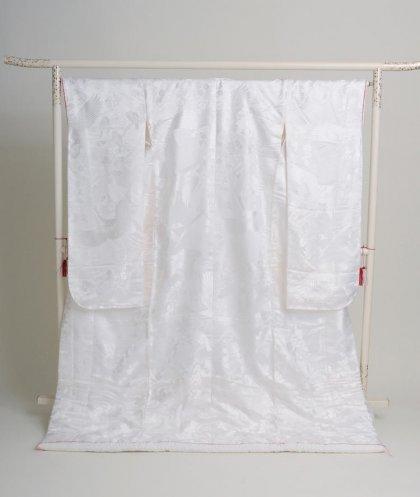 白無垢k010赤線入鶴梅花々