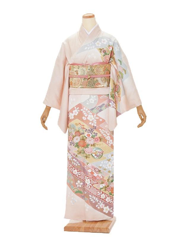 訪問着レンタルt351/結婚式・入学式・お宮参