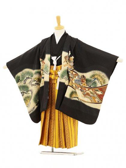 753レンタル(5歳男袴)5125 黒鷹