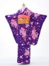 ジュニア着物jh0904紫