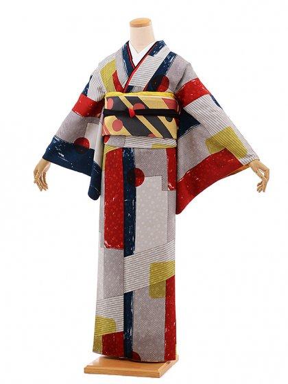 小紋554(化繊) モダンアンテナ モダーンデザイン