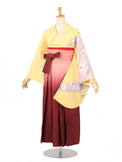 卒業袴レンタル 001黄色