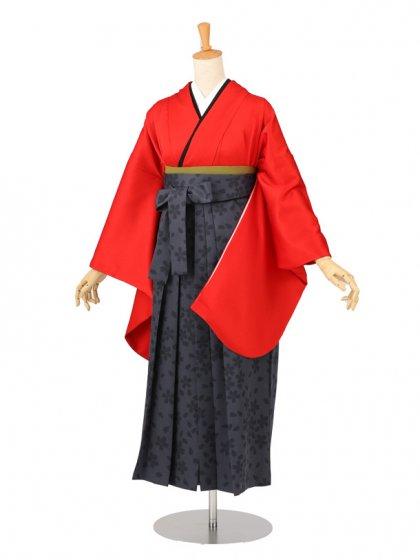 卒業袴レンタル 01B赤