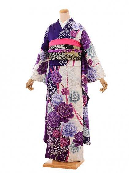 振袖675/CECILMcBEE/紫/おしゃれ