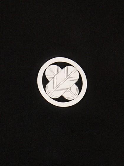 黒男紋付袴 4Lサイズ 正絹 成人式・卒業式