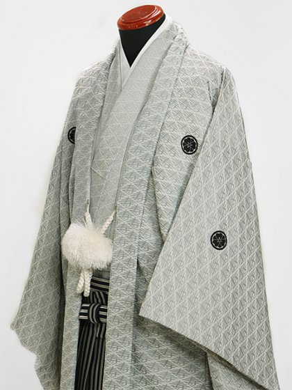 シルバー寿高級紋付 LLサイズ 新郎 結婚式