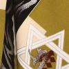 ベビー着物(男)406 緑/羽織タイプ