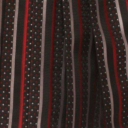 ベビー着物(男)400 黒/ロマンローズ 紋