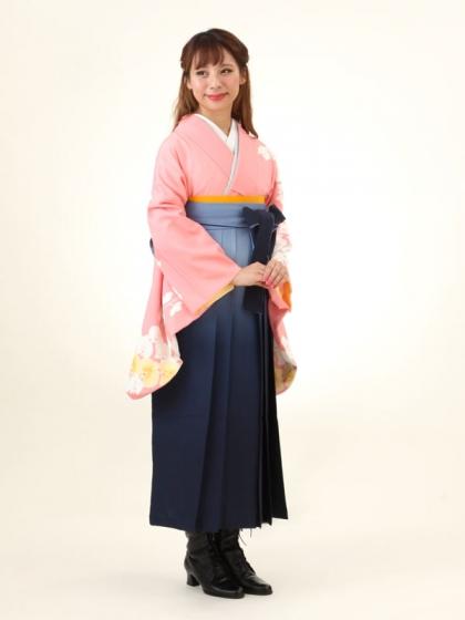 卒業袴レンタル 021ピンク