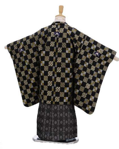 七五三(5男袴)5107 ひさかたろまん 格子模