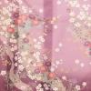 訪問着レンタル0537 H・L 薄紫色 波と花(ポリ