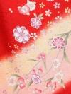 卒業袴レンタル A126赤