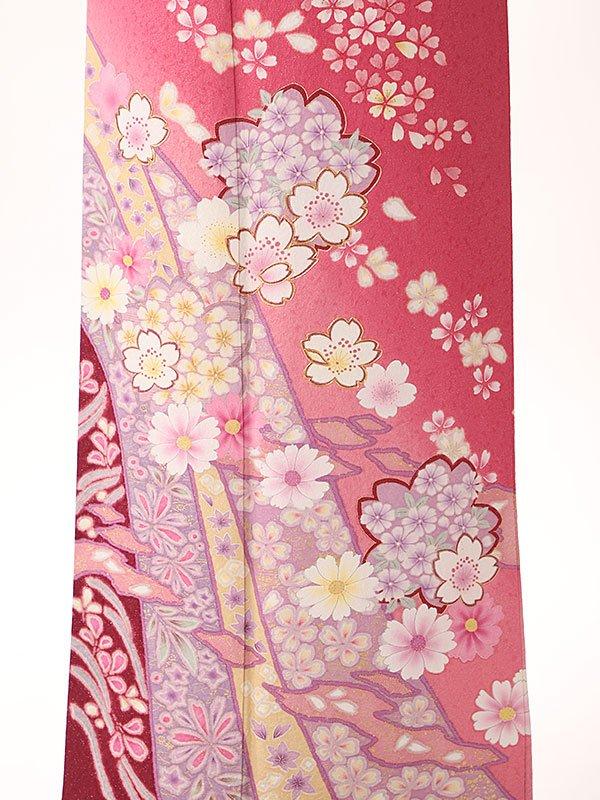 訪問着ピンク桜6170