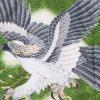 お宮参り男児2065 緑/鷹と松梅