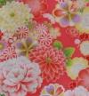 ジュニア(13女)9302ピンク/花模様/帯