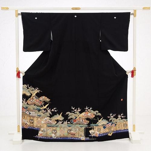 黒留袖レンタル5271寛斎祝宴