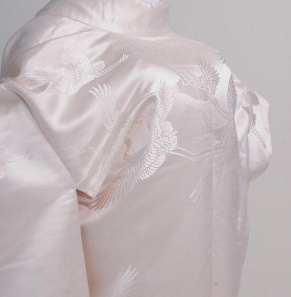 白無垢k004クリーム鶴フルセットレンタル