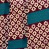 小紋553(化繊) モダンアンテナ ヒッタ(かのこ)紫