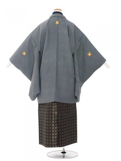 ジュニア(13男)1382 グレー/紺