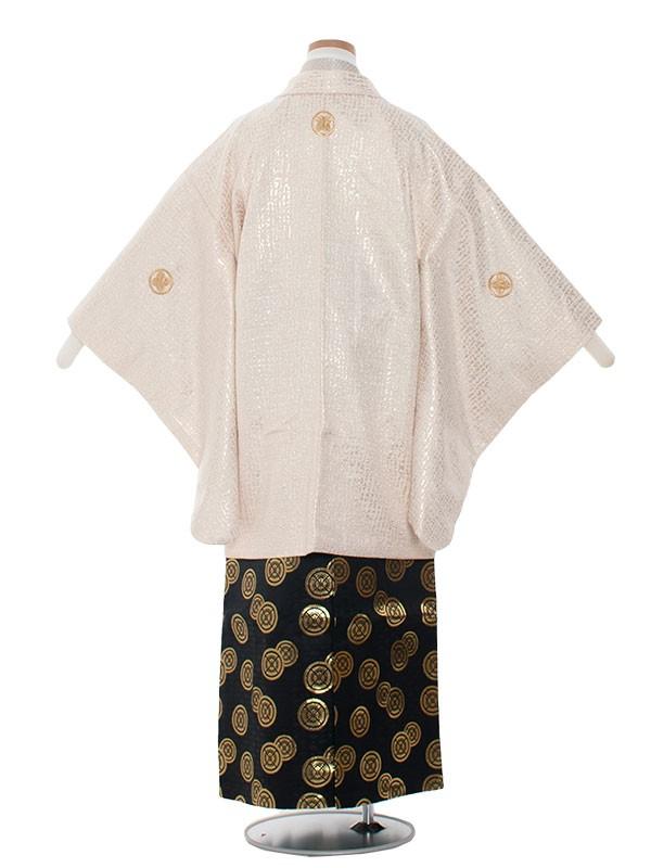小学生卒業式袴男児1343-3 クリーム/袴80