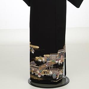 黒留袖レンタル6073大名集