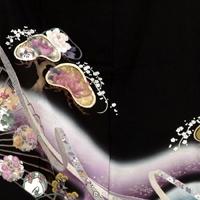黒留袖レンタル6057光淋松内に花